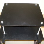 Циркулярный стол вид снизу