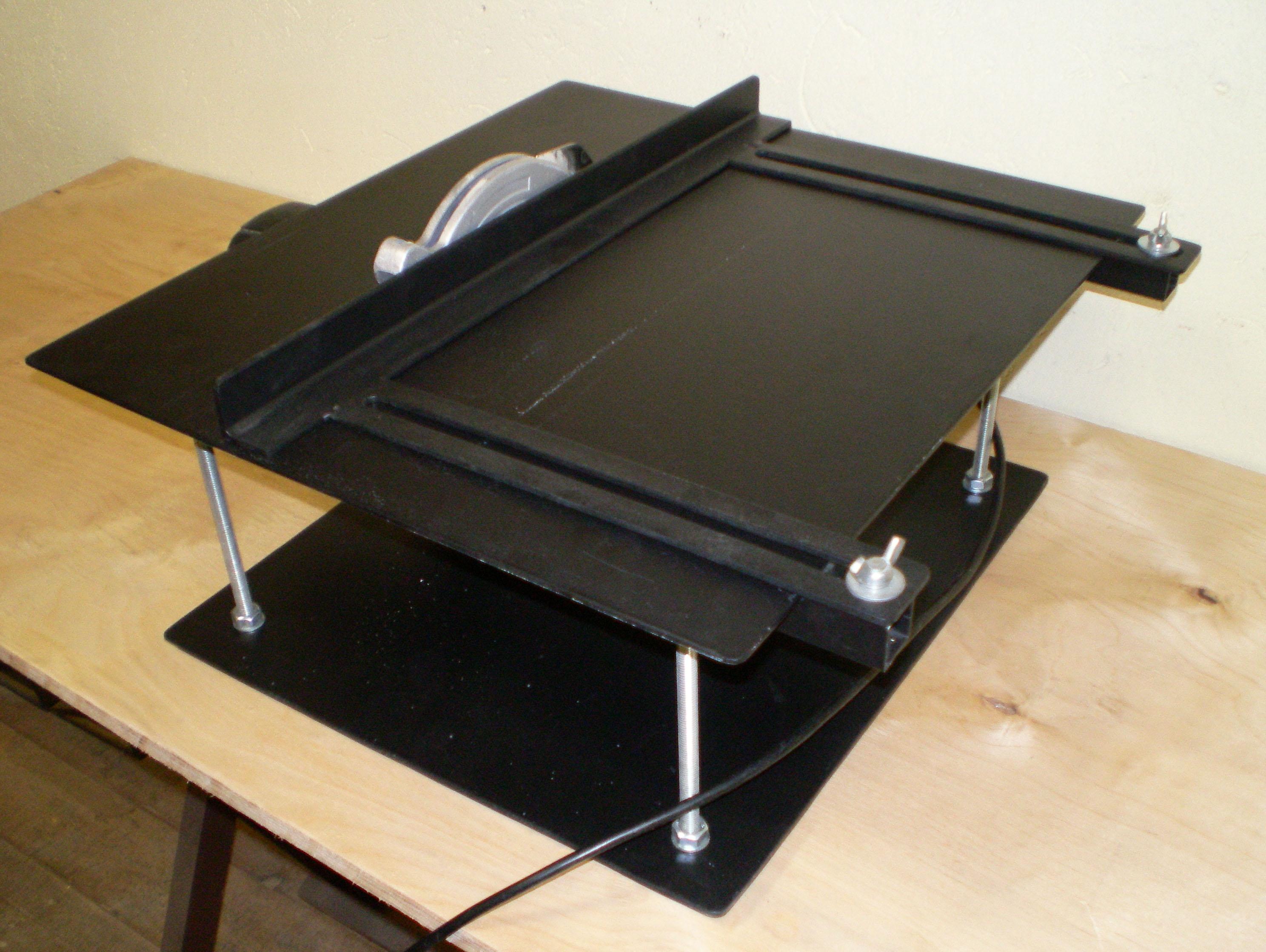 Стол для дисковой пилы своими руками фото чертежи