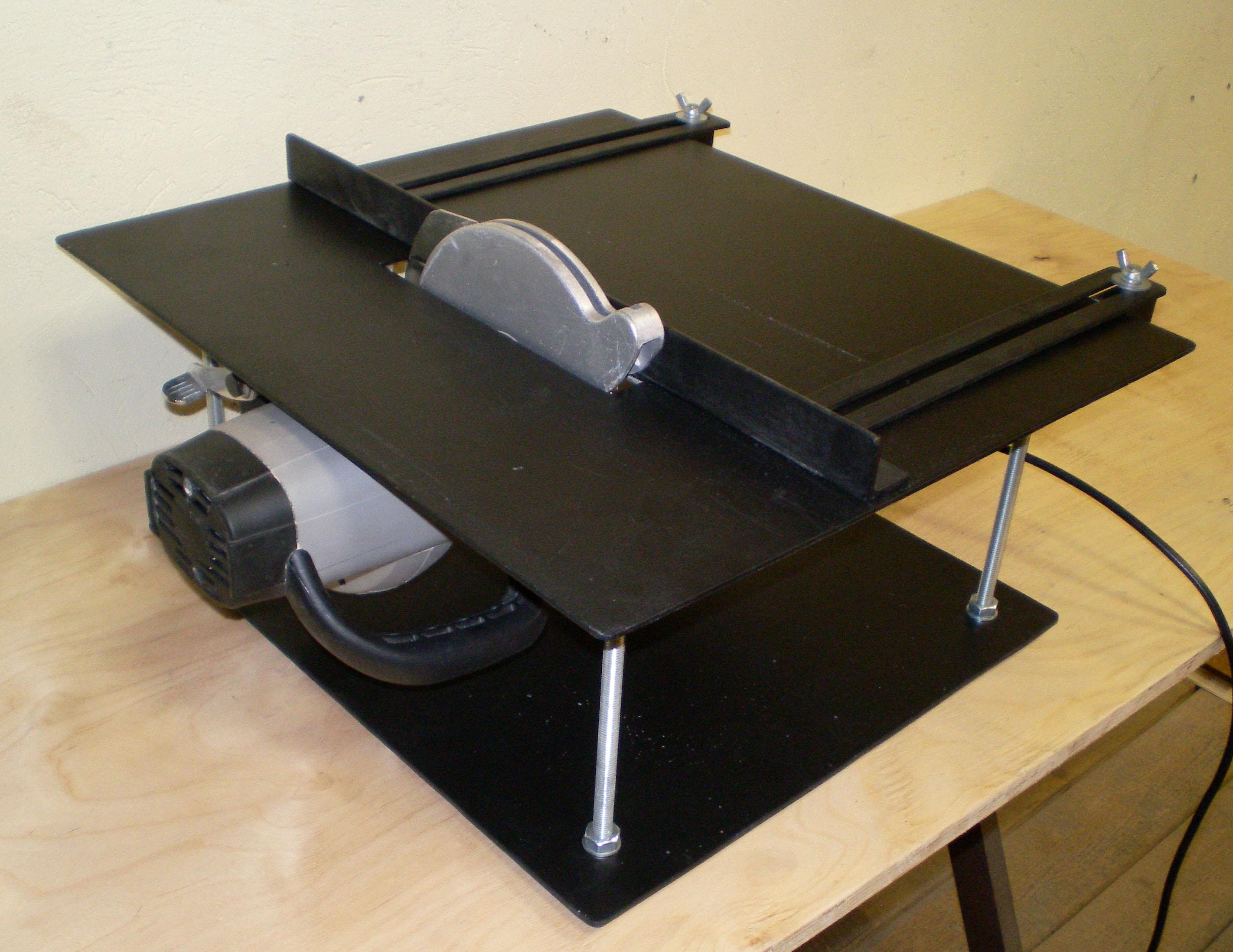 Разборный стол для циркулярной пилы своими руками