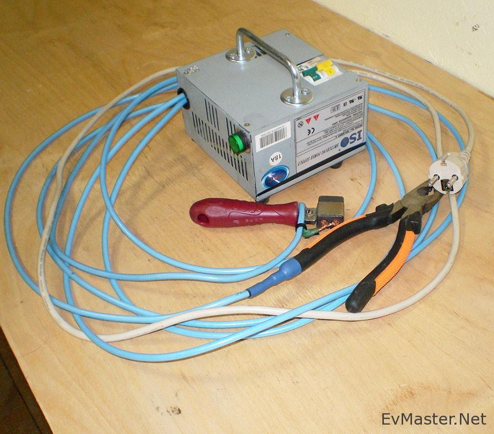 Сварочник для провода своими руками 30