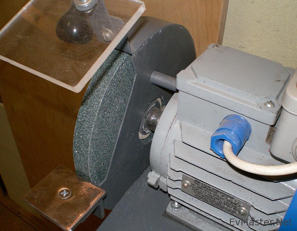 Электрический наждак своими руками из стиральной машинки: особенности