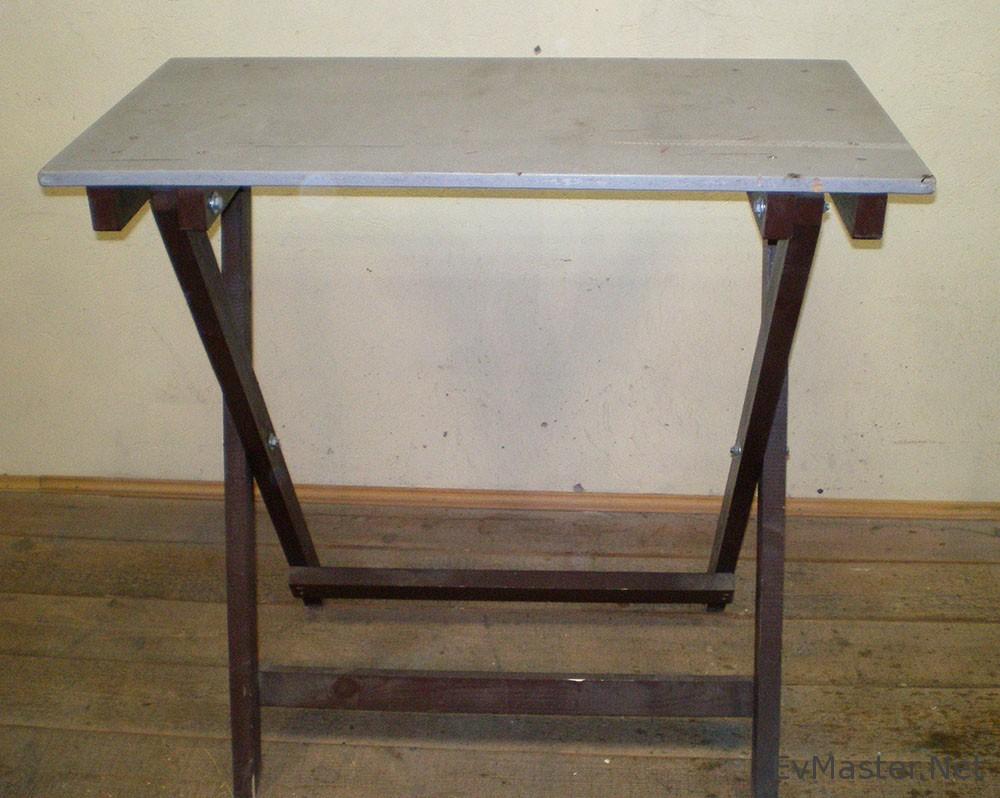 Кухонные столы из профильной трубы своими руками