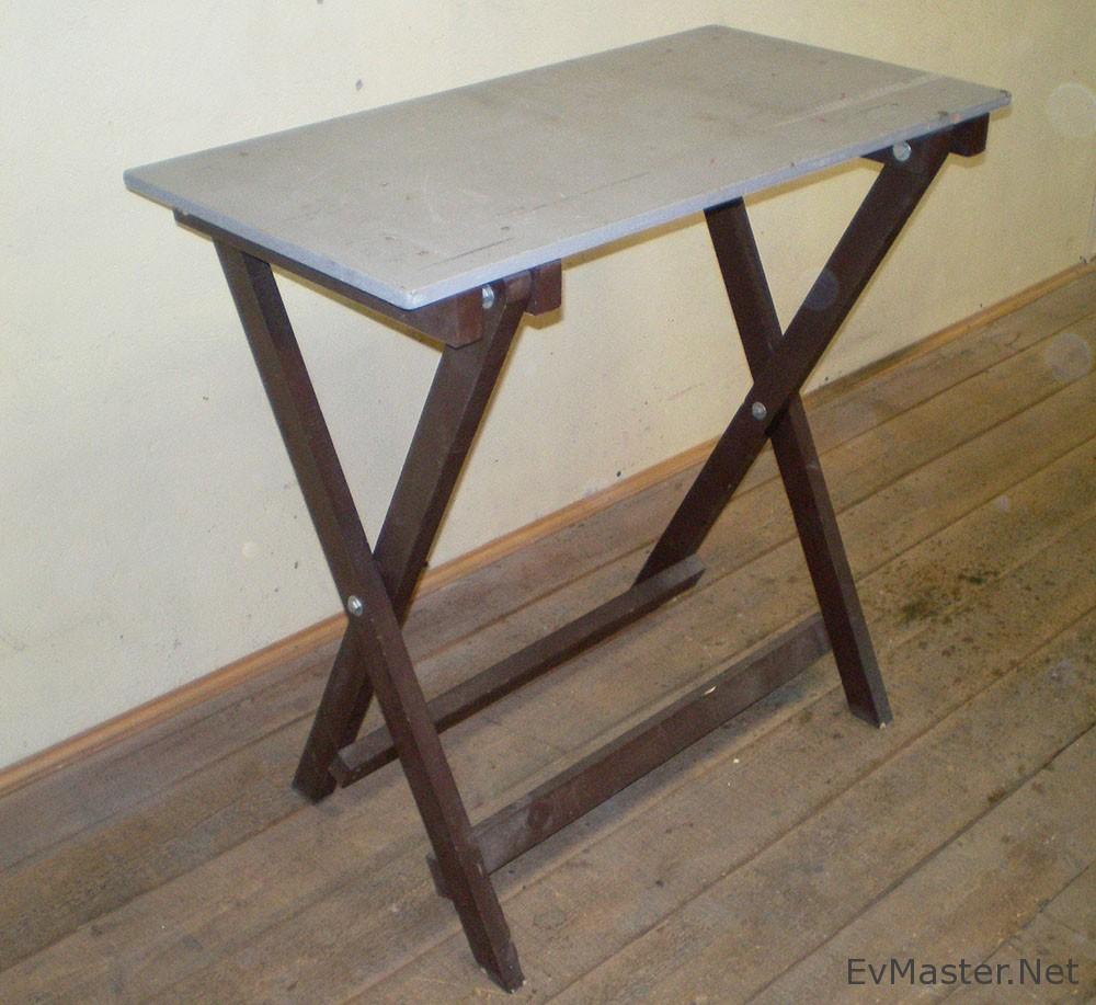 Раскладной стол для дома своими руками 655