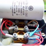 Подключение конденсатора к двигателю