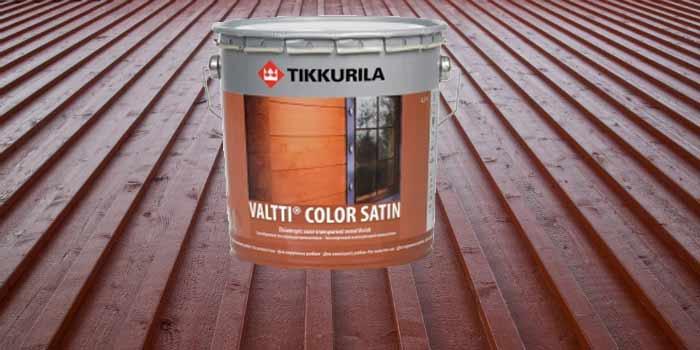 Пропитки для дерева Tikkurila