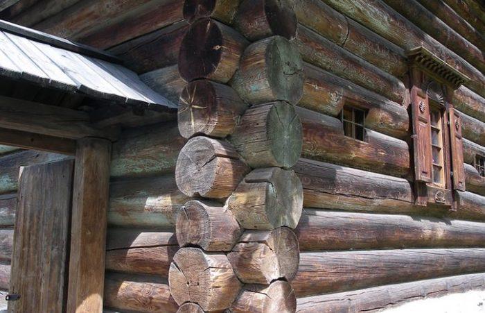 Фото дома из бревен
