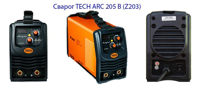 Инвертор TECH ARC 205 B (Z203)