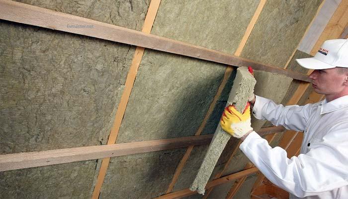 Фото утепления стен плитами каменной ваты