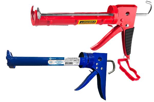 Полукорпусные пистолеты для герметика