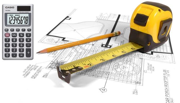 Калькулятор для расчета площади стен