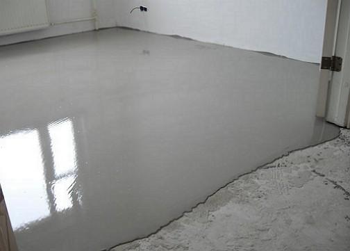 выравниваем бетон